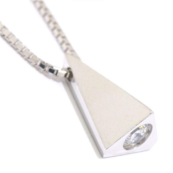 ダイヤ 0.305ct F/SI-2/VG K18WG ネックレス 49cm 18金ホワイトゴールド ダイア 【鑑定書付き】|purpose-inc|06