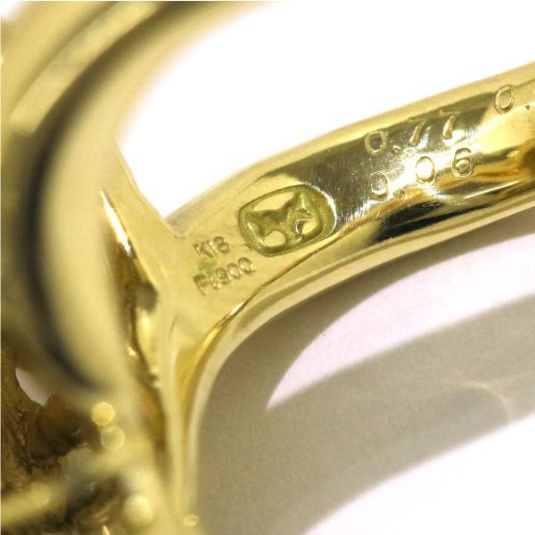 山本真理 オニキス 0.77ct ガーネット ダイヤ K18/Pt リング 12号 葡萄 ブドウ 18金 プラチナ 指輪|purpose-inc|05