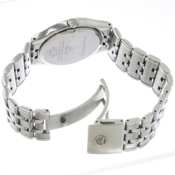 セイコー SEIKO CREDOR クレドール シグノ 創業130周年記念 GCAZ058 メンズ 腕時計 8J86 7A00 デイト クォーツ ウォッチ|purpose-inc|03