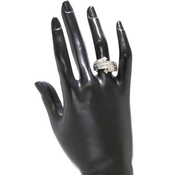 ダイヤ 2.34ct Pt プラチナ リング 12号 ダイア 指輪