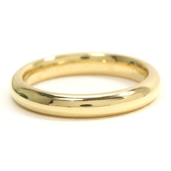 ショーメ CHAUMET エターナル クラシック 8号 リング K18YG 幅3mm 18金イエローゴールド 750 ダイヤ 指輪