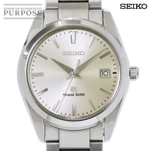 グランド セイコー GRAND SEIKO SBGX063 メンズ 腕時計 9F62 0AB0 デイト シルバー 文字盤 クォーツ ウォッチ