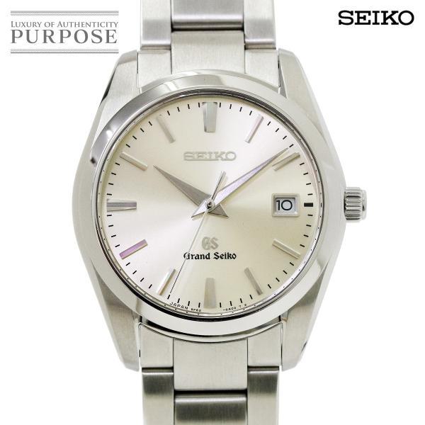 グランドセイコー GRAND SEIKO SBGX063 メンズ 腕時計 9F62 0AB0 デイト シルバー 文字盤 クォーツ ウォッチ
