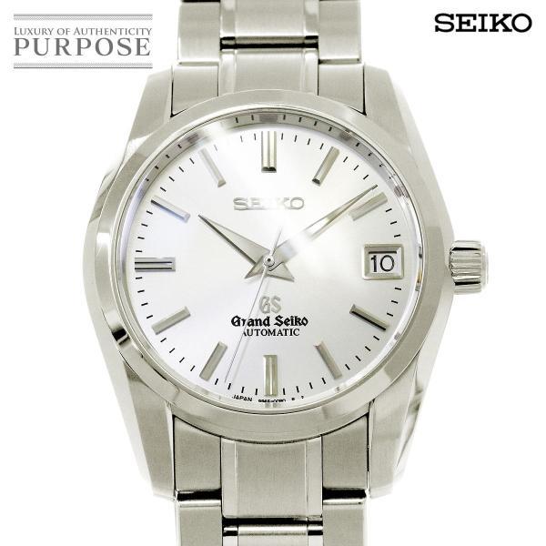 グランド セイコー GRAND SEIKO SBGR051 メンズ 腕時計 9S65 00B0 デイト シルバー オートマ 自動巻き ウォッチ