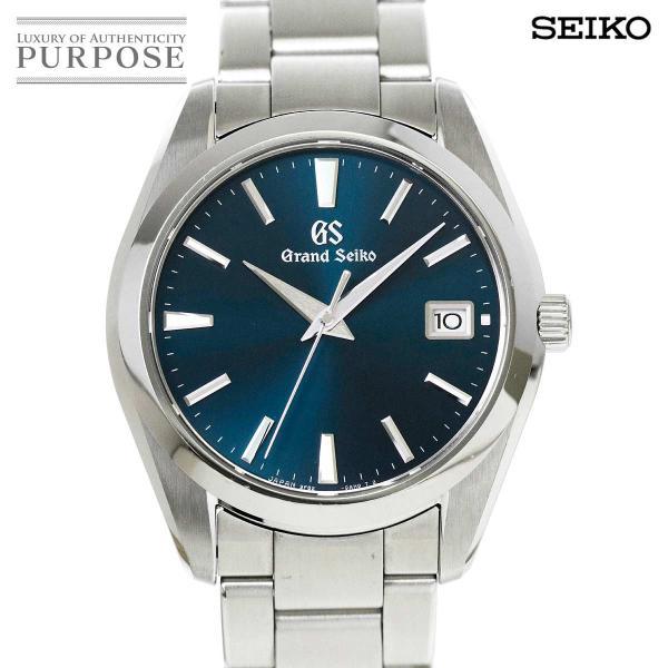 グランドセイコー GRAND SEIKO SBGV225 メンズ 腕時計 9F82 0AF0 デイト ネイビー 文字盤 クォーツ ウォッチ