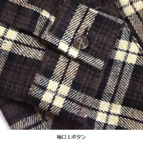 子供服 キッズ 長袖シャツ フード付き ロング丈 フランネルチェックシャツ 長袖 ネルシャツ 羽織 男の子 女の子 ジュニア 韓国こども服 SHISKY シスキー putimomo 11