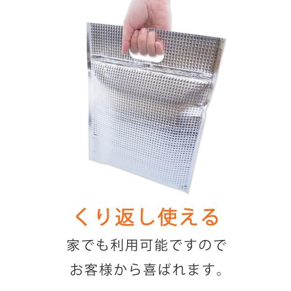 【20枚】 保冷袋 平袋タイプ Sサイズ (ジップ付き) 【保冷バッグ】【簡易保冷バッグ】|putiputiya|03