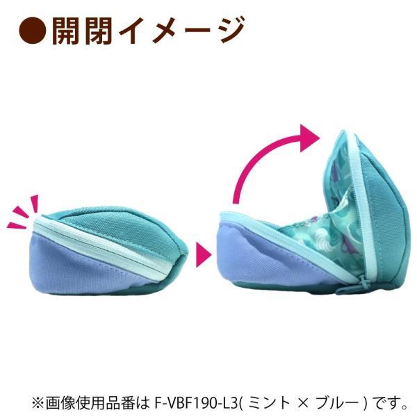 コクヨ ペンケース 筆箱 大容量 シェルブロ 限定 ミスタードーナツ柄 ミント×ブルー F-VBF190-L3|qalib|08
