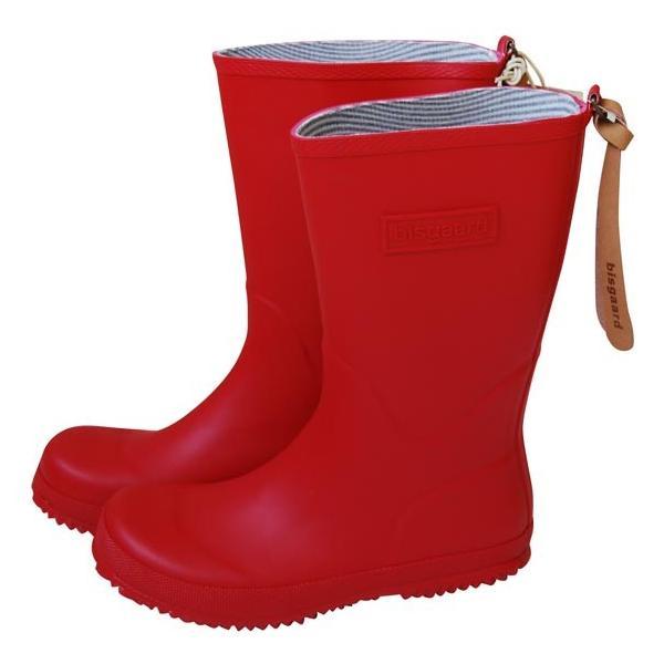 30%OFF セール bisgaard ビスゴ レインブーツ 子供 キッズ 人気ショップが最安値挑戦 値引き 中敷き付 18〜23.5cm 長靴 red レインシューズ