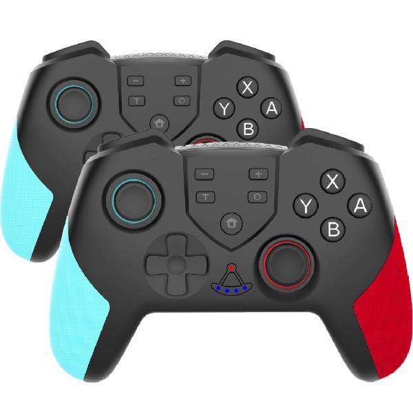 2個セット NintendoSwitchコントローラースイッチコントローラーLite対応ワイヤレスジャイロセンサーTURBO機