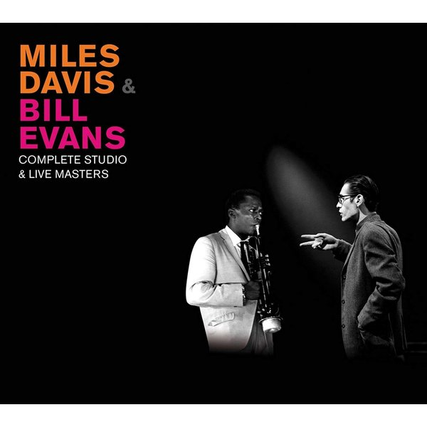 マイルスデイビス ビルエバンス CD アルバム | MILES DAVIS & BILL EVANS COMPLETE STUDIO & LIVE MASTERS 3枚組 輸入盤 CD 送料無料|qoo-online4-store