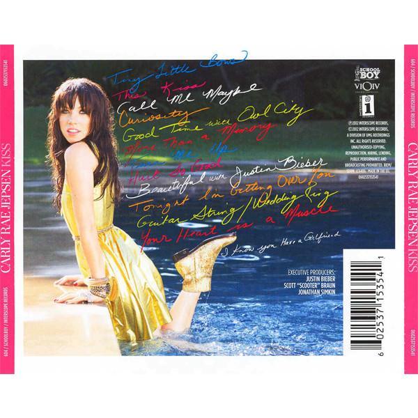 カーリーレイジェプセン CD アルバム | CARLY RAE JEPSEN KISS 輸入盤 CD 送料無料|qoo-online4-store|02