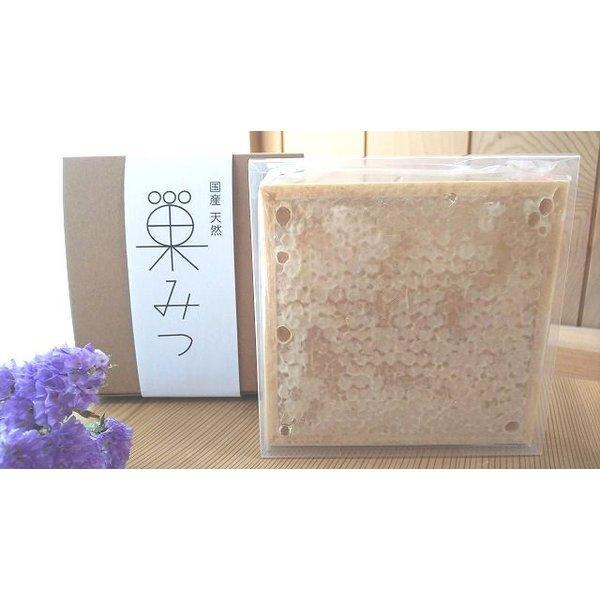 【送料無料】【弥生が丘養蜂園】国産純粋 巣みつ 約300g入