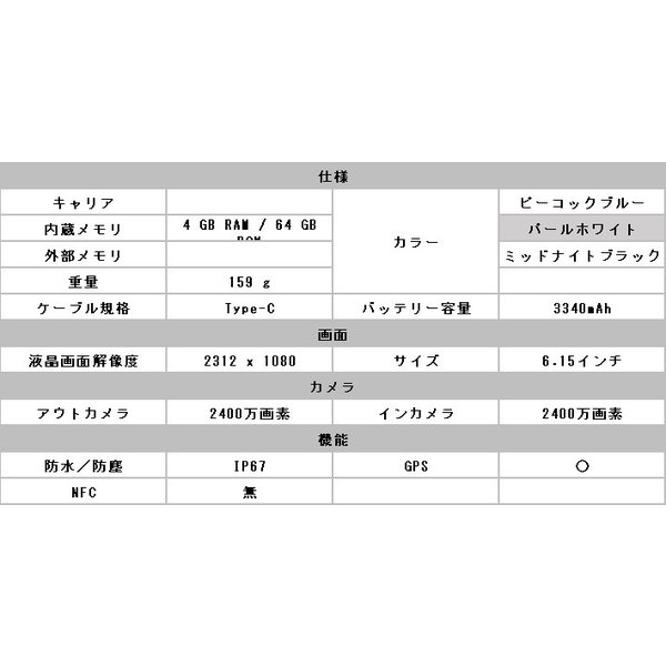 「新品 未開封品」Huawei SIMフリー P30 lite パールホワイト 「MAR-LX2J]「simfree]|quality-shop|02