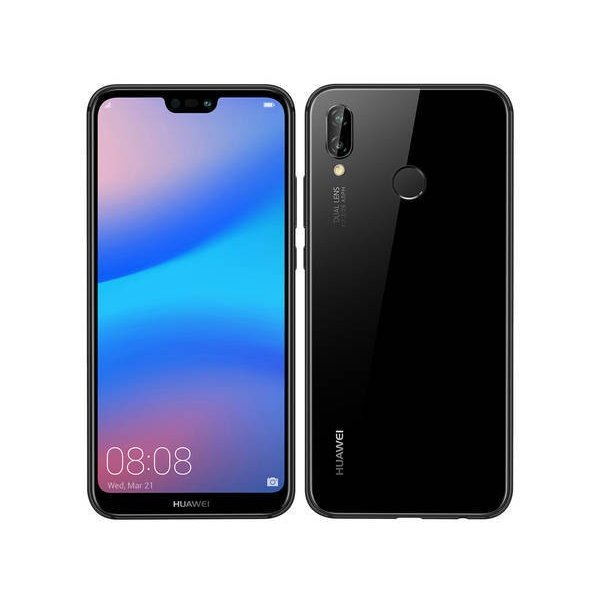 Uqmobile Huawei P20 Lite ミッドナイトブラック 白ロム