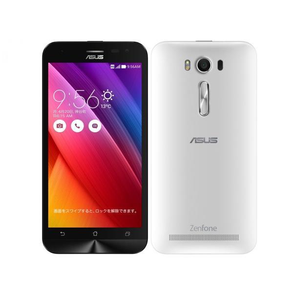 「新品 未使用品」SIMフリー ASUS ZenFone2 Laser ZE500kL RAM2GB 16GBメモリー ホワイト white [ASUS][simfree][格安]|quality-shop