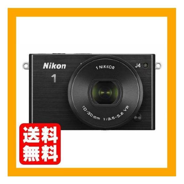 Nikon ミラーレス一眼 Nikon1 J4 標準パワーズームレンズキット ブラック J4HPLKBK