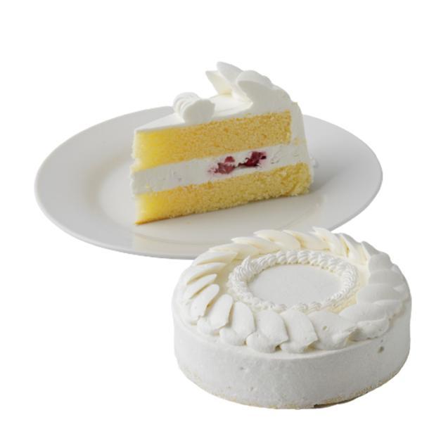 即日発送 ショートケーキ(苺スライス入り) 7号 21.0cm 約680g ホールタイプ バースデーケーキ 誕生日ケーキ 送料無料(※一部地域除く)