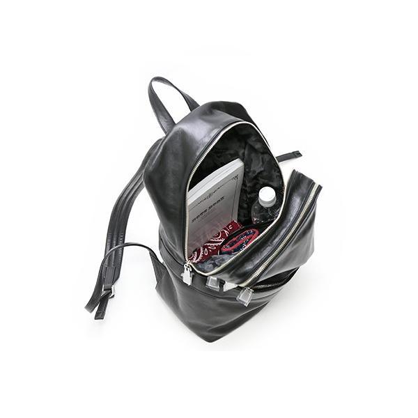 ボディバッグ メンズ 本革 A4 バッグパック バッグ ブラック アニアリ aniary メンズ カジュアル バックパック バッグ 01-05000 (01-05000,BK) ブラック