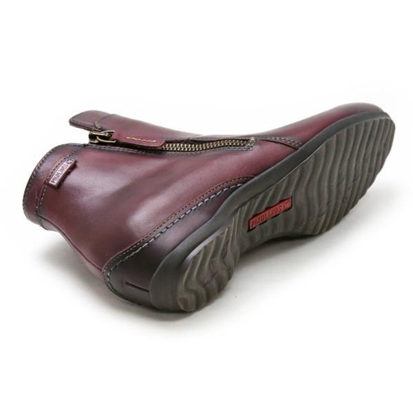 ブーツ メンズ ボルドー ピコリノス PIKOLINOS レディース ブーツ 968-8655bd ボルドー ベネツィア 正規通販