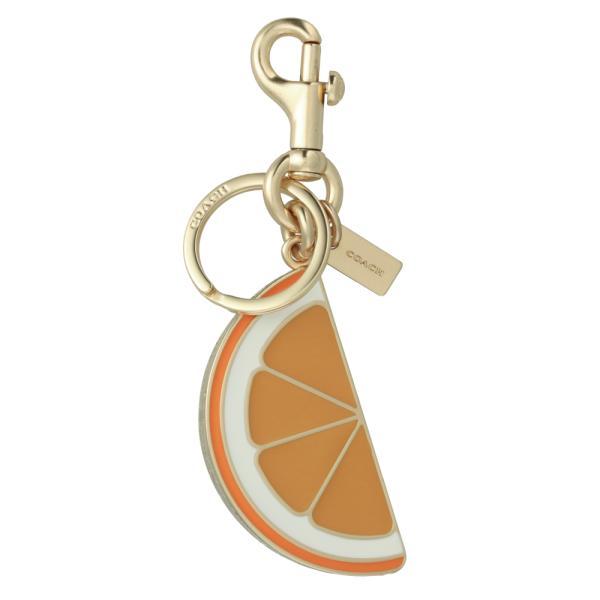 [コーチ] キーホルダー オレンジ スライス チャーム キーフォブ COACH Orange Slice Charm Key Fob 1631 IMORG