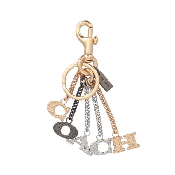 [コーチ] キーホルダー レター チャーム キーフォブ COACH Perforated Letters Charm Key Fob 91474 IML38
