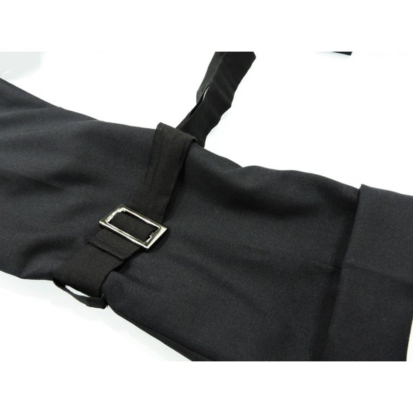 メンズ パンツ スカート 黒 ファッション メンズスカート ブラック スカート付き S サイズ 44|queenandking|11