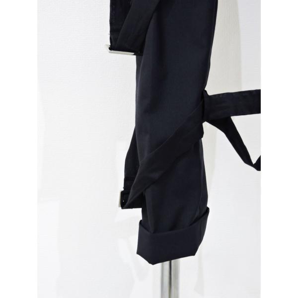 メンズ パンツ スカート 黒 ファッション メンズスカート ブラック スカート付き S サイズ 44|queenandking|08