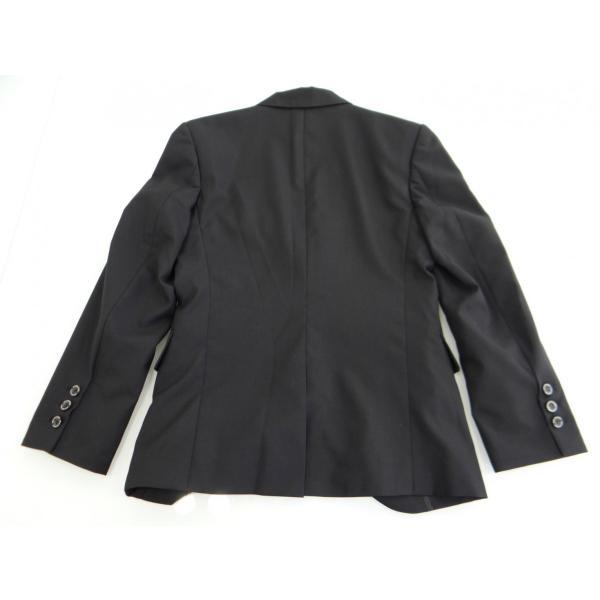 ジャケット メンズ 黒 ブラック シングル 42 XS サイズ センターベント|queenandking|05