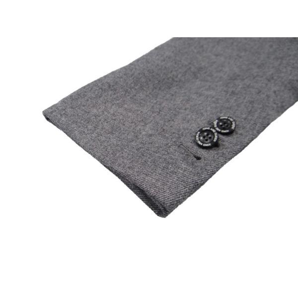 グレー メンズ チェスターコート コート 長袖 灰色 メンズコート チェスター コート Sサイズ 44|queenandking|05