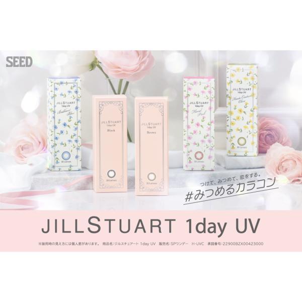 ジルスチュアート ワンデー UV (1箱10枚入り)( 送料無料 ワンデー カラコン コンタクト 度あり 度なし 1日使い捨て UVカット )|queeneyes