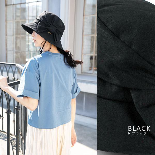 帽子 レディース 夏 夏用 大きいサイズ UV UVカットつば広 小顔効果抜群 サイドリボンQueenハット 日よけ 折りたたみ 女優帽 自転車 飛ばない|queenhead|15