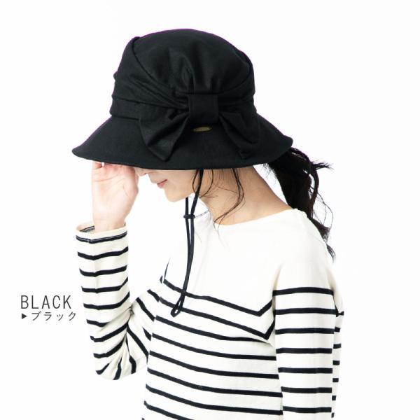 帽子 レディース 夏 夏用 大きいサイズ UV UVカットつば広 小顔効果抜群 サイドリボンQueenハット 日よけ 折りたたみ 女優帽 自転車 飛ばない|queenhead|16