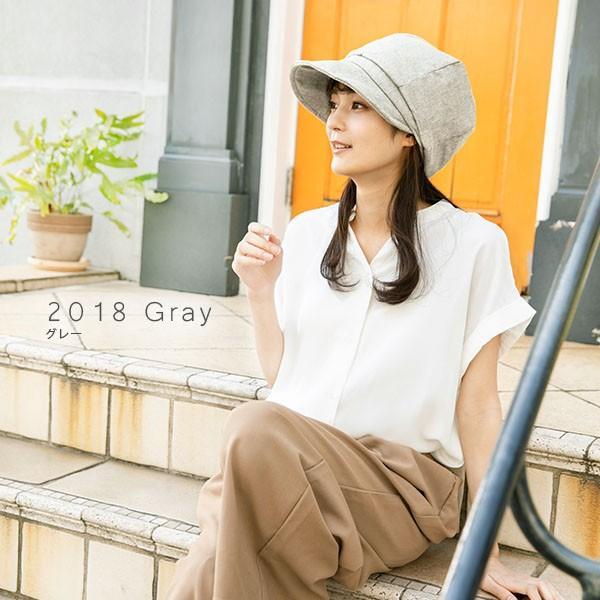 小顔効果抜群 UV 帽子 レディース 夏 大きいサイズ  紐調整 キャスケット ひも UVカット sale セール 紫外線100%カット queenhead 06
