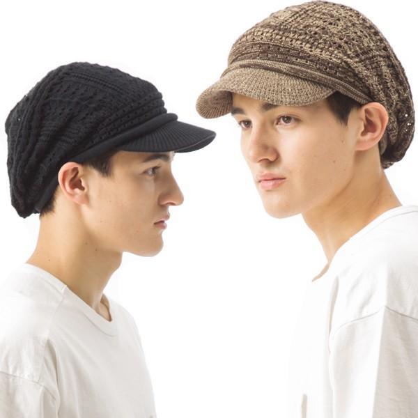 1000円 セール UV 紫外線対策 帽子 レディース 大きいサイズ 商品名 つば付きあみあみニットキャスケット 日よけ|queenhead|11