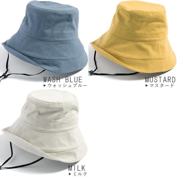 帽子 レディース 紫外線100%カット つば広 UVカット UV 大きいサイズ 紐付き麻ポリブリムハット 日よけ 折りたたみ 飛ばない 春 夏 母の日|queenhead|20