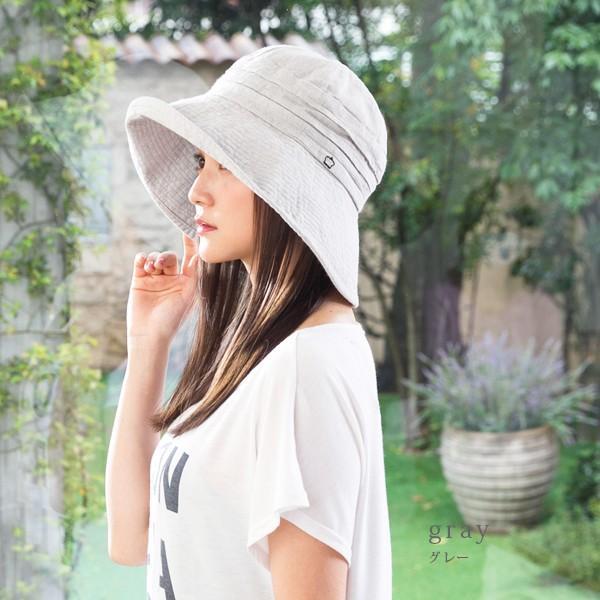 帽子 レディース 夏 夏用 大きいサイズ UV UVカット つば広 エレガントUVハット 日よけ 折りたたみ 女優帽 自転車 飛ばない 56-63cm|queenhead|14