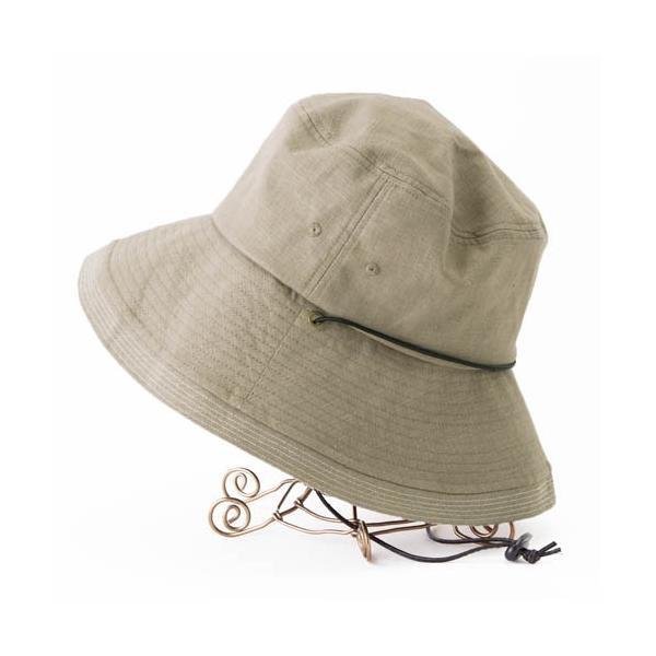 こんな帽子を探してた UV ハット 帽子 レディース 大きいサイズ 日よけ 折りたたみ つば広 自転車 飛ばない UVカット 春 夏 56-63cm 紐付きフレンチHAT queenhead 11
