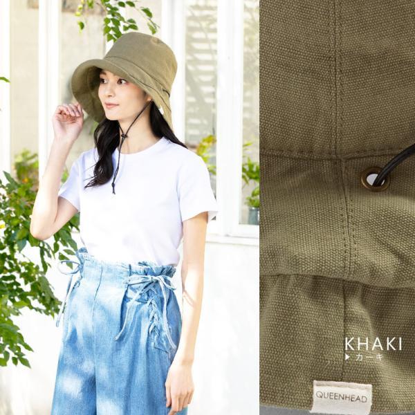 1000円 セール 帽子 レディース 春 夏 折りたたみ 大きいサイズ 風に飛ばない UVカット 日よけ  紐付きブリムフレンチHAT 紫外線100%カット|queenhead|16