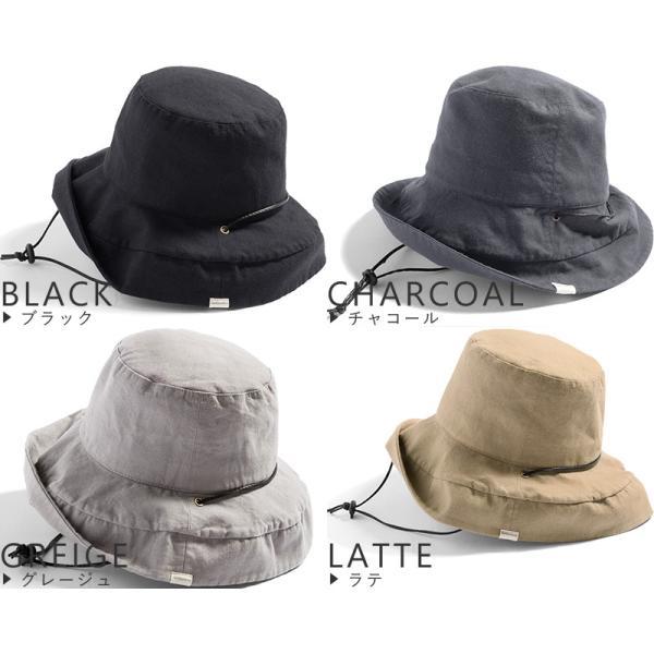 1000円 セール 帽子 レディース 春 夏 折りたたみ 大きいサイズ 風に飛ばない UVカット 日よけ  紐付きブリムフレンチHAT 紫外線100%カット|queenhead|19