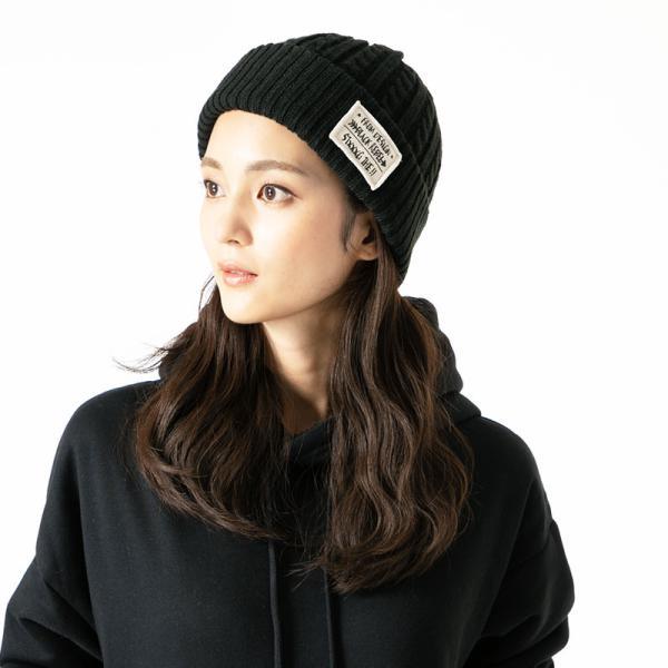 6時間限定700円 ニット帽 防寒対策 送料無料 帽子 レディース 大きいサイズ メンズ 秋冬  商品名 ケーブルタグ付きニット|queenhead|04