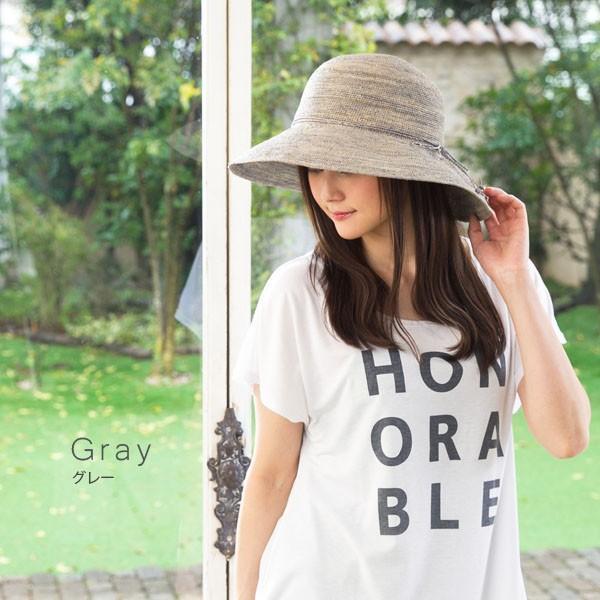 細編みラフィアHAT 帽子 レディース 夏 夏用 つば広 UV UV対策 麦わら 折りたたみ UVカット 56-63cm 商品名 3サイズ細編みラフィア100%HAT|queenhead|11
