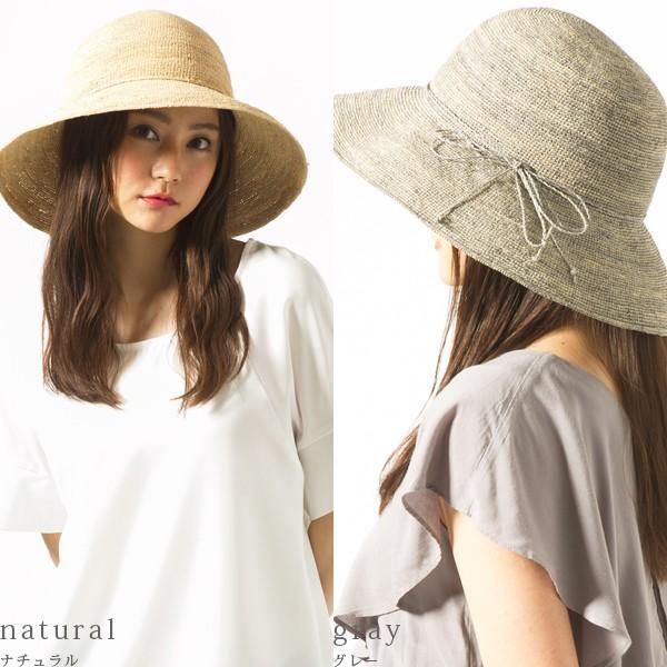 50%0FF 細編みラフィアHAT 帽子 レディース 夏 夏用 つば広 UV UV対策 麦わら 折りたたみ UVカット 56-63cm 商品名 3サイズ細編みラフィア100%HAT|queenhead|21