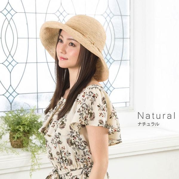 細編みラフィアHAT 帽子 レディース 夏 夏用 つば広 UV UV対策 麦わら 折りたたみ UVカット 56-63cm 商品名 3サイズ細編みラフィア100%HAT|queenhead|10