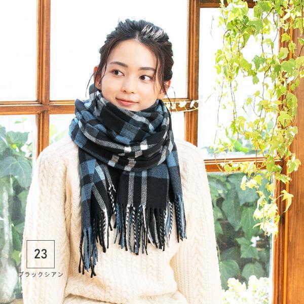 大判 ストール queen20colorストールマフラー 防寒 セール 1000円 SALE 秋 冬 秋冬|queenhead|15