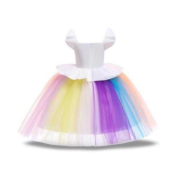 fb93071f135a8 ... LU82ディズニープリンセス 子供用ドレス キッズ ソフィア 小馬宝莉 なりきりワンピース ユニコーン 子どもドレス プリンセス