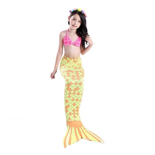 c2e6ce3dbf627 ... W192A コスプレ衣装 子供 人魚姫ワンピース キッズ コスチューム 水着 子供用ドレス 衣装 コス なりきり