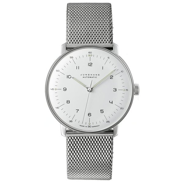 027 3500 00M ユンハンス Max Bill by Junghans Automatic メンズ腕時計 国内正規品 送料無料  |quelleheure-1