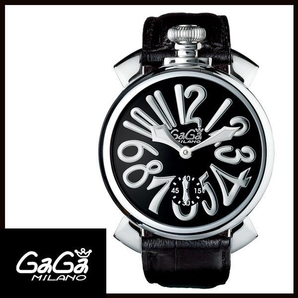 5010.04S GAGA MILANO ガガミラノ  MANUALE 48MM  マニュアーレ 48mm ステンレス メンズ腕時計 国内正規品 送料無料   quelleheure-1
