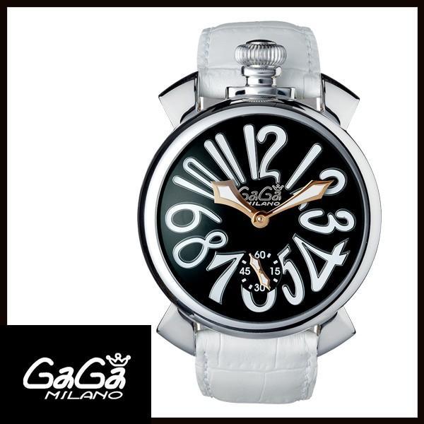 5010.06S GAGA MILANO ガガミラノ  MANUALE 48MM  マニュアーレ 48mm ステンレス メンズ腕時計 国内正規品 送料無料  |quelleheure-1